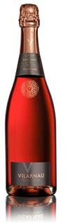 Vilarnau Cava Brut Rose 750ml - Case of 12